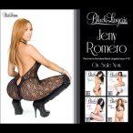 Jeny Romero @RealJenyRomero on the cover of SHOW Black Lingerie