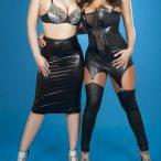 Jeneva @JenevaTweets and Kari Novelli @KariNovelli1: Double Time - Rho Photos