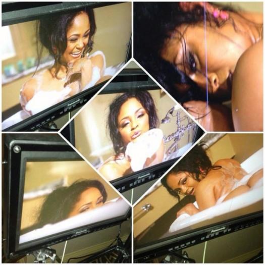 "Maliah Michel @IAmMaliahMichel - Behind the Scenes - TJ Boyce's ""No Panties"""