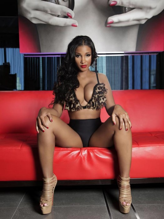 Draya Michele, Bernice Burgos and Iesha Marie in Angel Brinks Summer Collection
