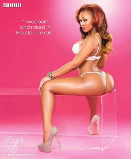 Miracle Watts @miraclewatts00 in lastest issue of SHOW Magazine