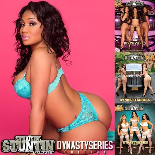 Kyra Chaos @KyraChaos in DynastySeries Issue of Straight Stuntin