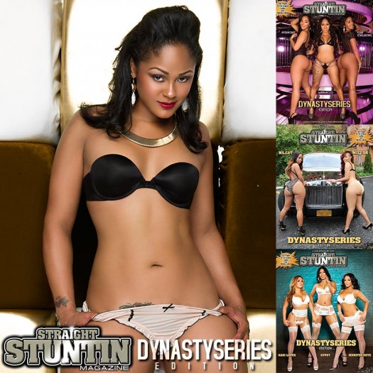 Maliah Michel @iammaliahmichel in DynastySeries Issue of Straight Stuntin