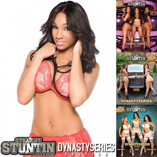 Marisa Elise @msMarisaElise in DynastySeries Issue of Straight Stuntin