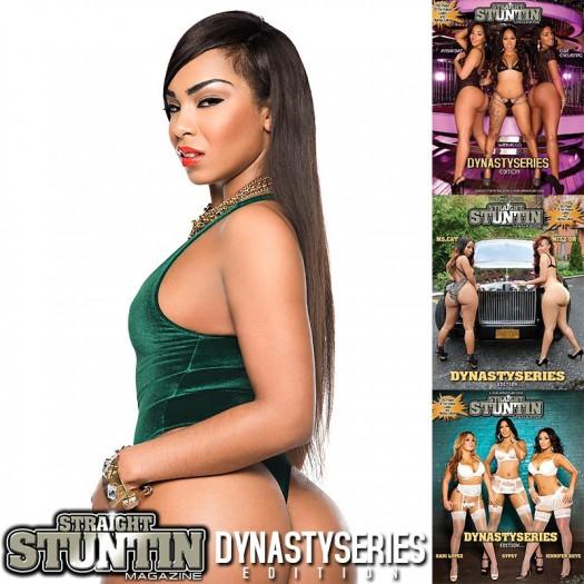 Sidney Lauren @SidneyLauren in DynastySeries Issue of Straight Stuntin