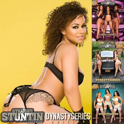 Winny Munoz @imbader in DynastySeries Issue of Straight Stuntin