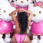 Lena Chase @Lena_Chase: Hello Kitty - Happy Halloween - Behind the Scenes Video
