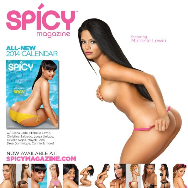 Get 2014 Spicy Magazine @SPICYmag Calendar