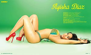 Ayisha Diaz @ayishadiaz in SHOW Magazine Issue 25