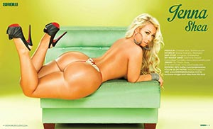 Jenna Shea @iamjennashea in SHOW Magazine Issue 25