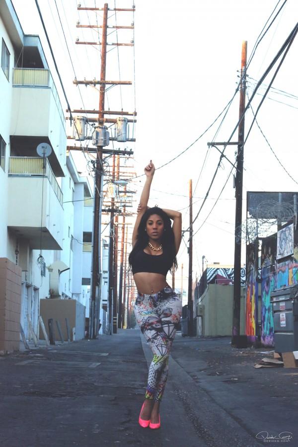 Jennifer Morel @dancermorel: Alley Ways - Derick G