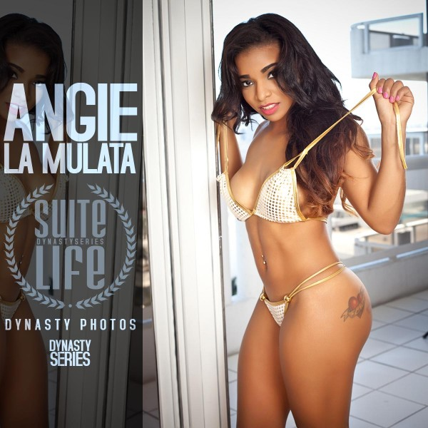Angie La Mulata @angielamulata: Suite Life Miami Part 2 - Dynasty Photos