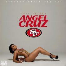 Angel Cruz @karmela.sweetz: NFL Bodypaint – San Francisco 49ers – Jose Guerra
