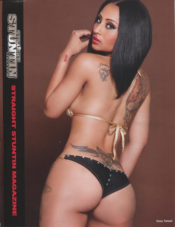 Model BeeStarr @ModelBeeStarr in Straight Stuntin Issue 34 - Doss Tidwell
