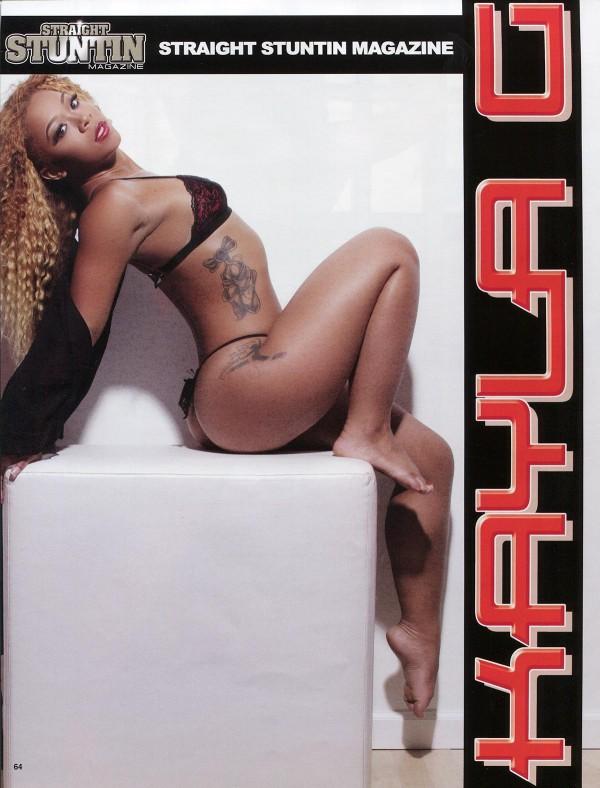 Kayla G @kaylag_ in Straight Stuntin 35