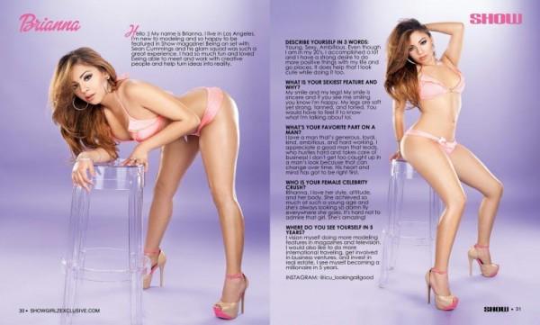Brianna @icu_lookingallgood in SHOW Magazine #28