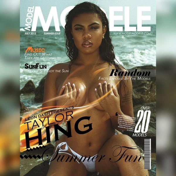 Taylor Hing @_chinesekitty - Model Modele Presents Summer Fun - Leon Dash