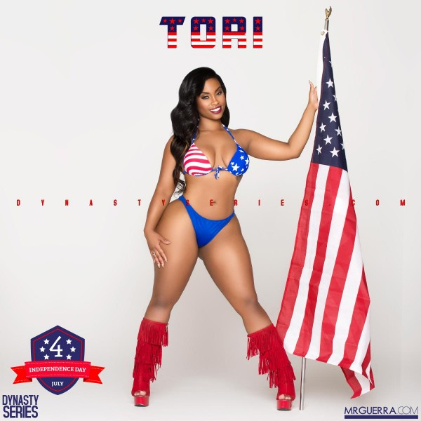 Tori Sweetheart @torisweetheart2: Red White & Blue - Independence Day - Jose Guerra
