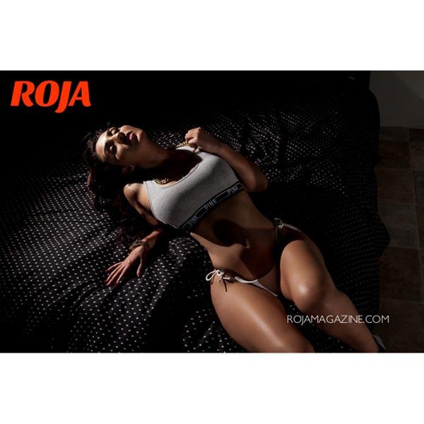Paulina Ardon in Roja Magazine – Algis Infante