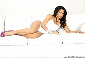 Rosa Acosta - White Out - BlackMenDigital Previews