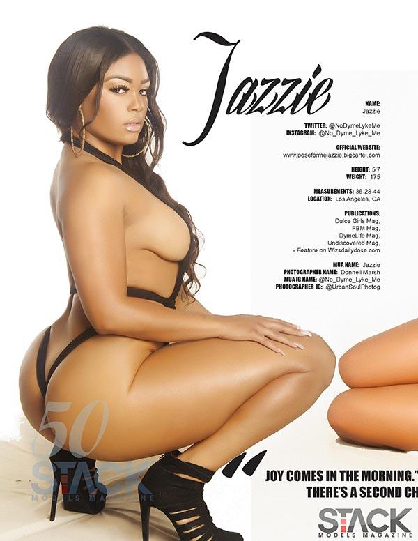 Jazzie @NoDymeLykeMe - Stack Models Magazine Preview