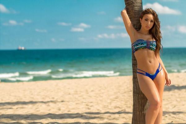 Jasmin Calle @JasminCalle - Model Modele x Ranchel Lopez