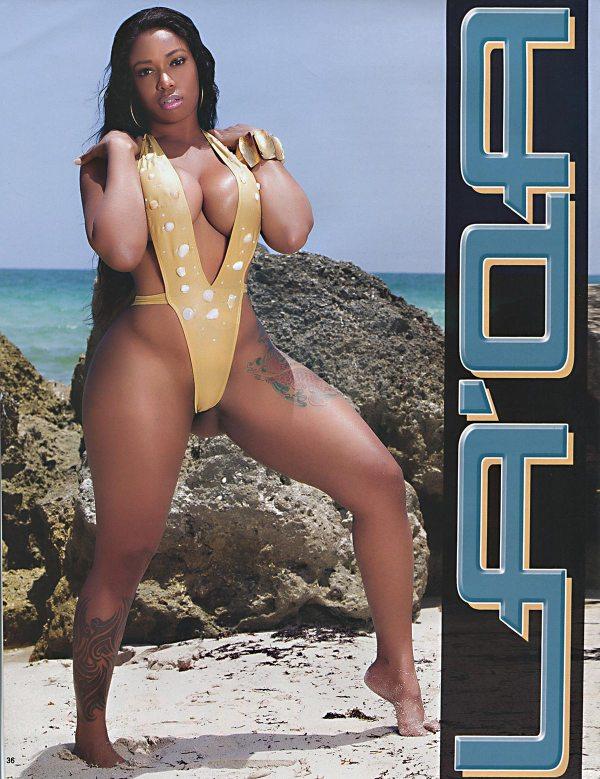 La'Qa @firstladyinc_ in Straight Stuntin Issue #39