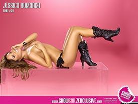 Jessica Burciaga in SHOW Magazine