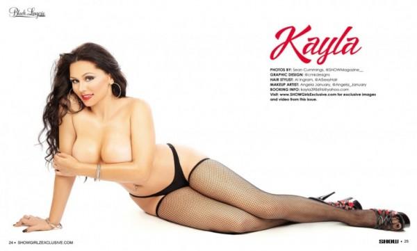 Kayla in SHOW Magazine