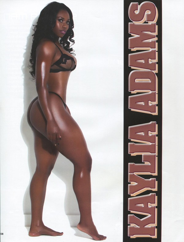 Kayla Adams in Straight Stuntin Issue #42