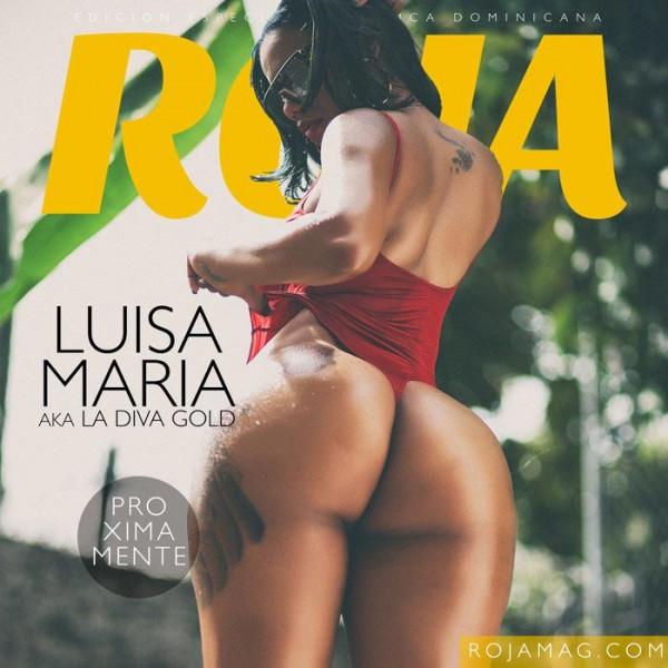 Luisa Maria in Roja Magazine - Algis Infante