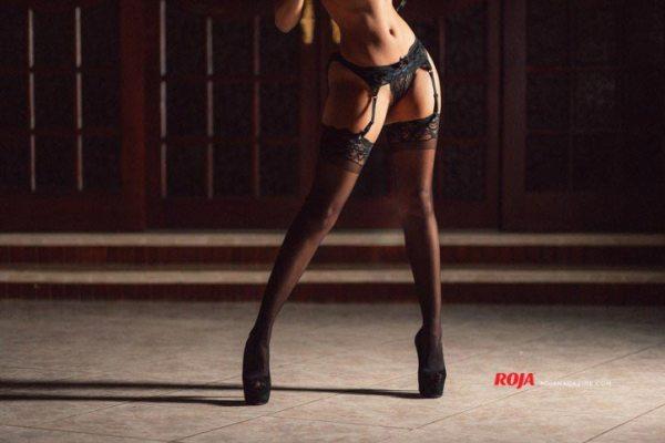 Melodiva Baez in Roja Magazine - Algis Infante