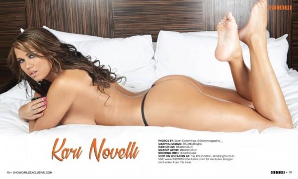 Kari Novelli in SHOW Magazine