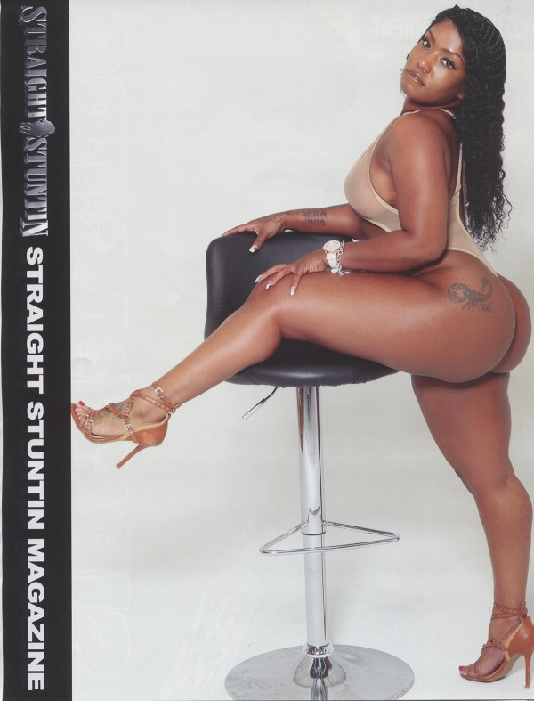 Wynter in Straight Stuntin Magazine #45