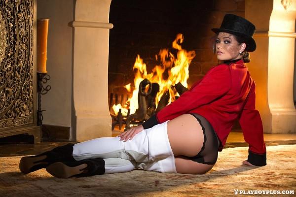 Chelsie Aryn in Under Wraps - Playboy
