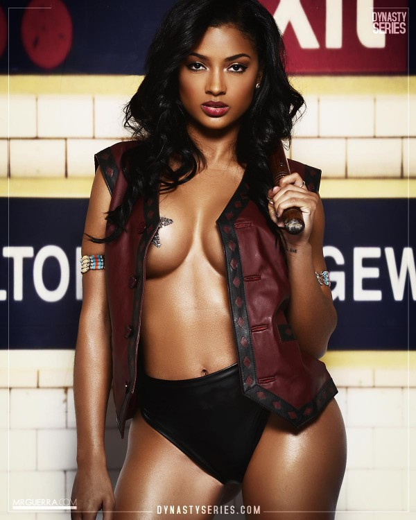 Marilyn Melo: The Warriors - Jose Guerra x Artistic Curves
