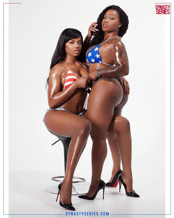 Dallas da Body and Ivy Christiana: 4th of DC x Independence Day - Briscoe Photography