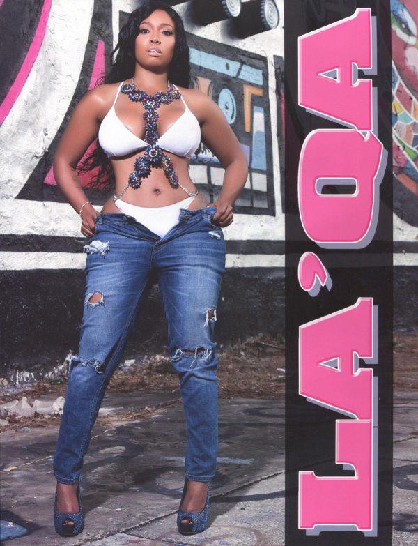 La'Qa in Straight Stuntin Magazine #46
