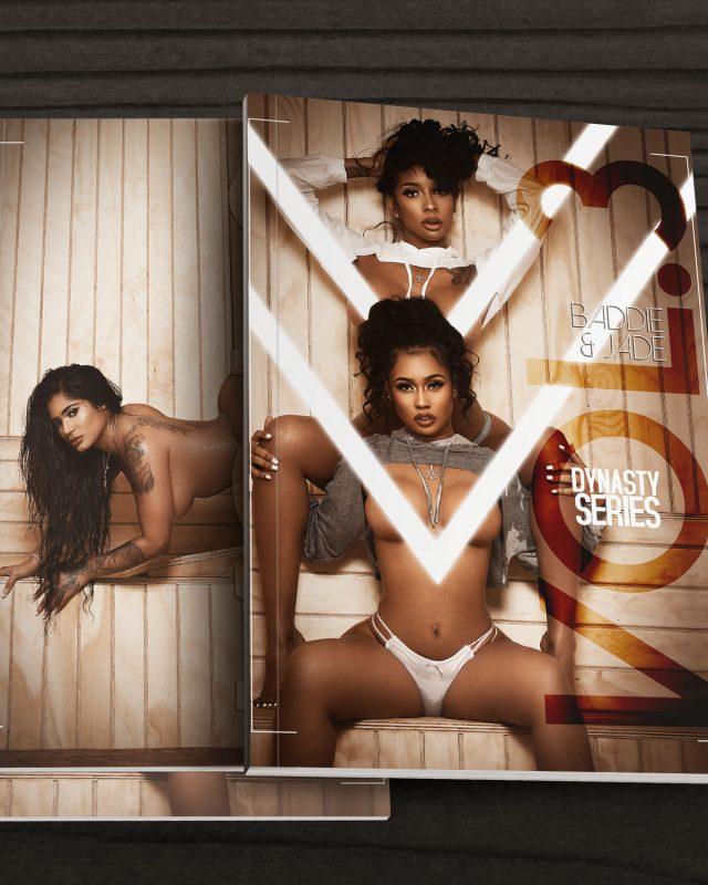 DynastySeries™ Presents Volume 3: Sauna – Cover Girls Baddie, Jade, and Alexis