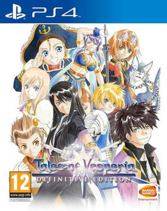 Tales of Vesperia: Definitive Edition PS4 PKG