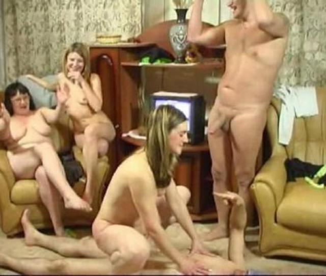 Mature Russian Group Sex Party