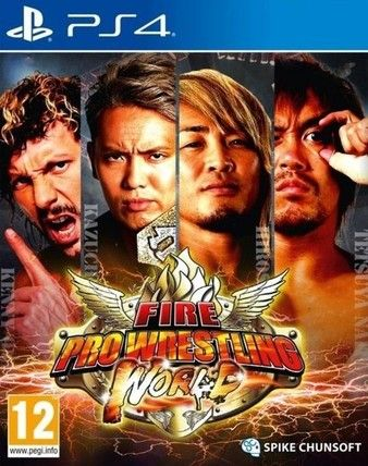 Fire Pro Wrestling World PS4 PKG