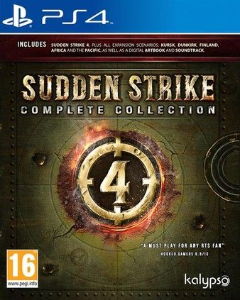Sudden Strike 4: Complete Collection PS4 PKG