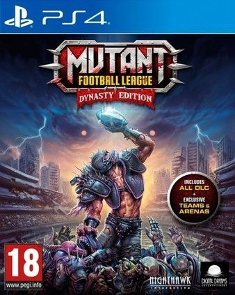 Mutant Football League PS4 PKG