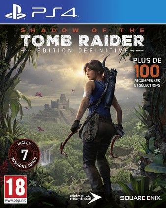 Shadow of the Tomb Raider Definitive Edition PS4 PKG