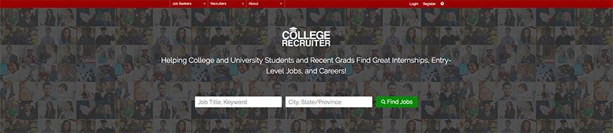 collegerecruiter freelance website