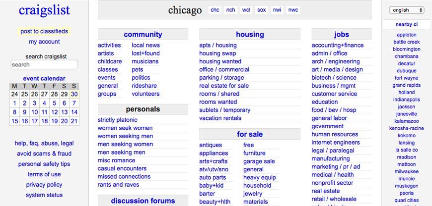 craigslist freelance website