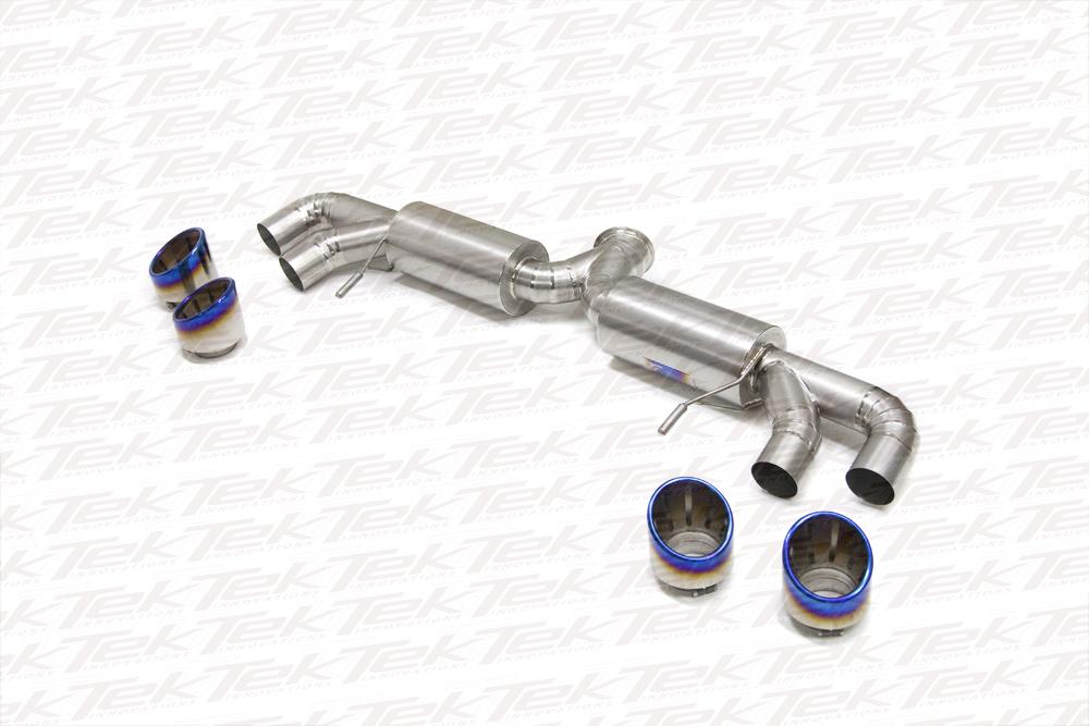 titek 2009 nissan r35 gt r 102mm titanium exhaust