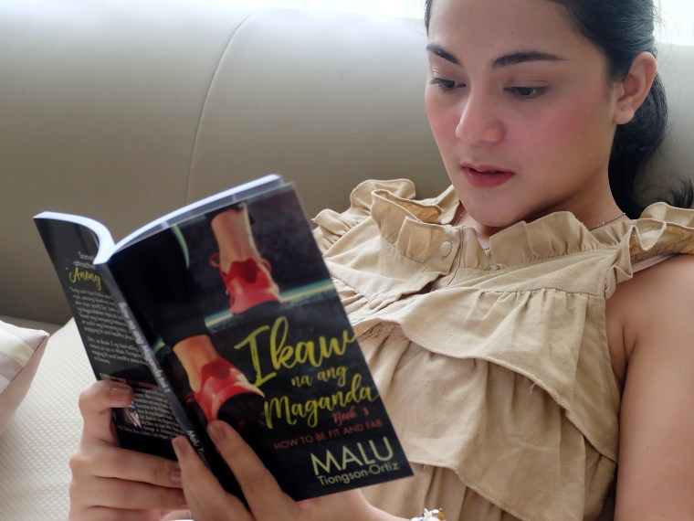 dyosathemomma: Ikaw Na Ang Maganda Book 3: How To Be Fit and Fab by Malu Tiongson-Ortiz of OMF Literature book review