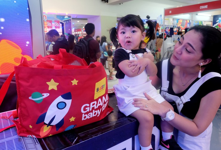 dyosathemomma: Baby Company Grand Baby Fair Year 8 SM Megatrade Hall